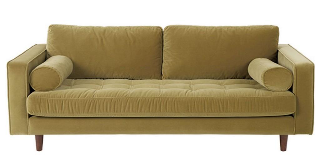 Quelle déco pour un salon avec un canapé jaune