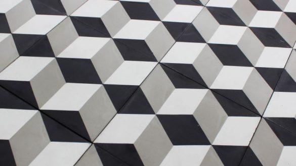 Carreau Ciment Cube Carrelage Ciment Pas Cher Dedans