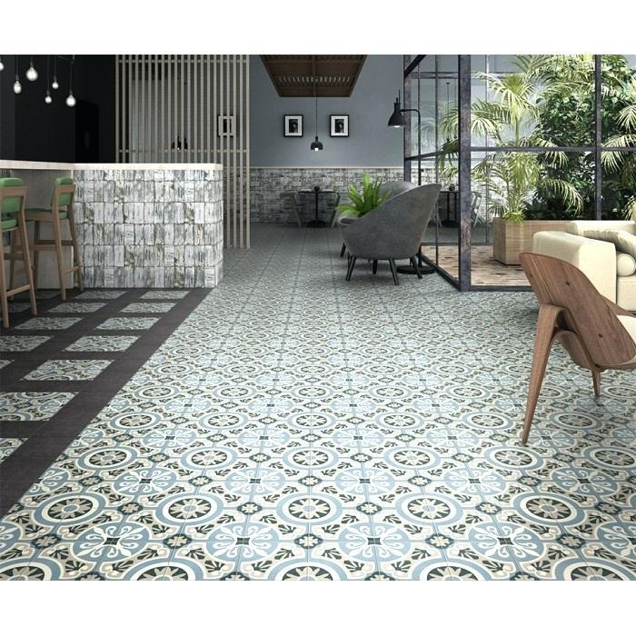 Saint Maclou Vinyle Carreau Ciment Mobilier Decoration