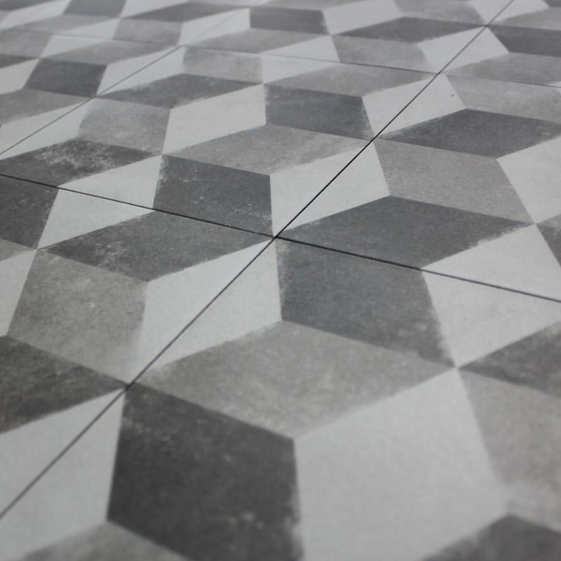 Carreau Ciment sol Carrelage sol aspect Carreau Ciment Vintage Decoro Cubo