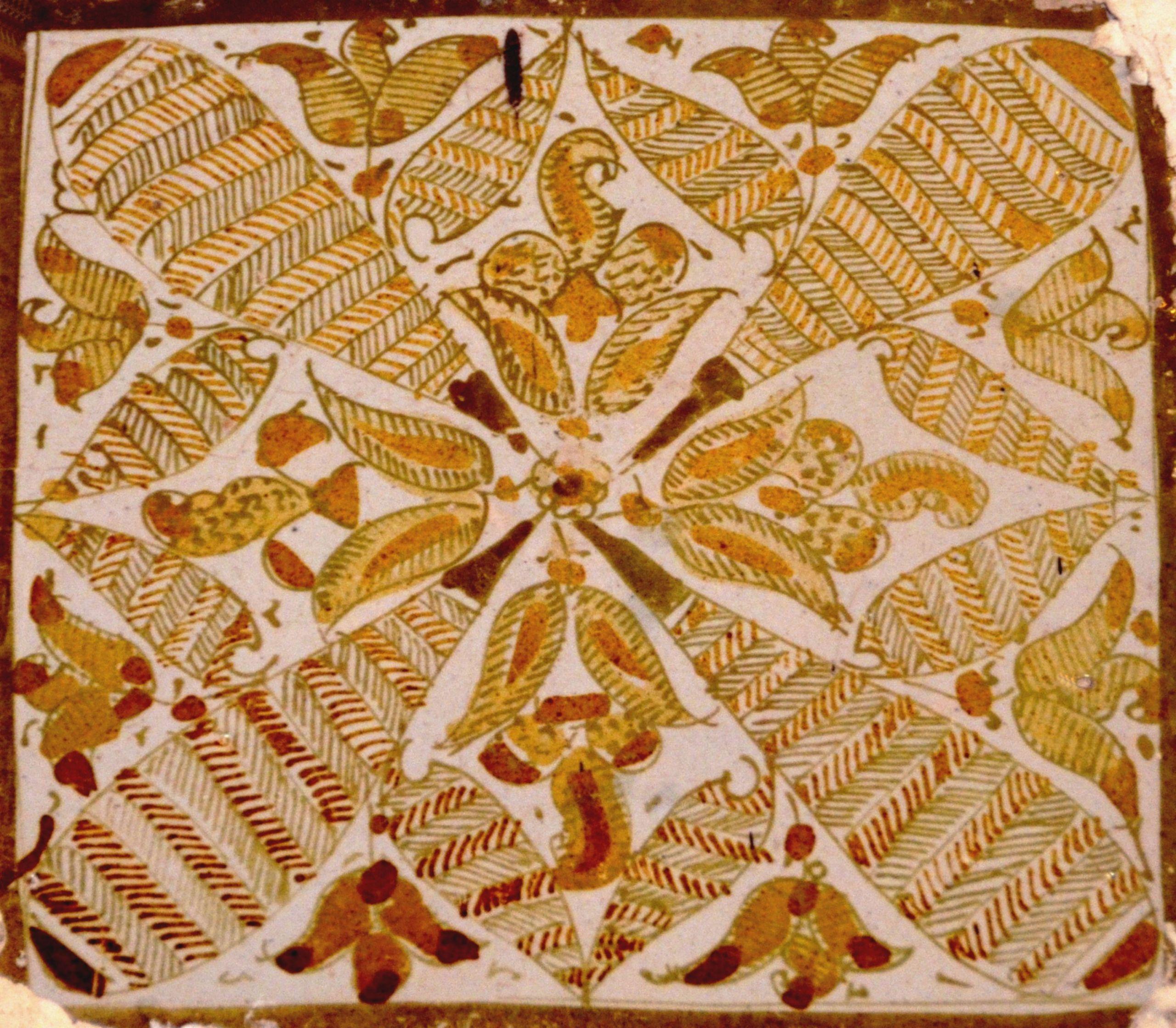 Fichier Grande Mosquée de Kairouan carreau de céramique