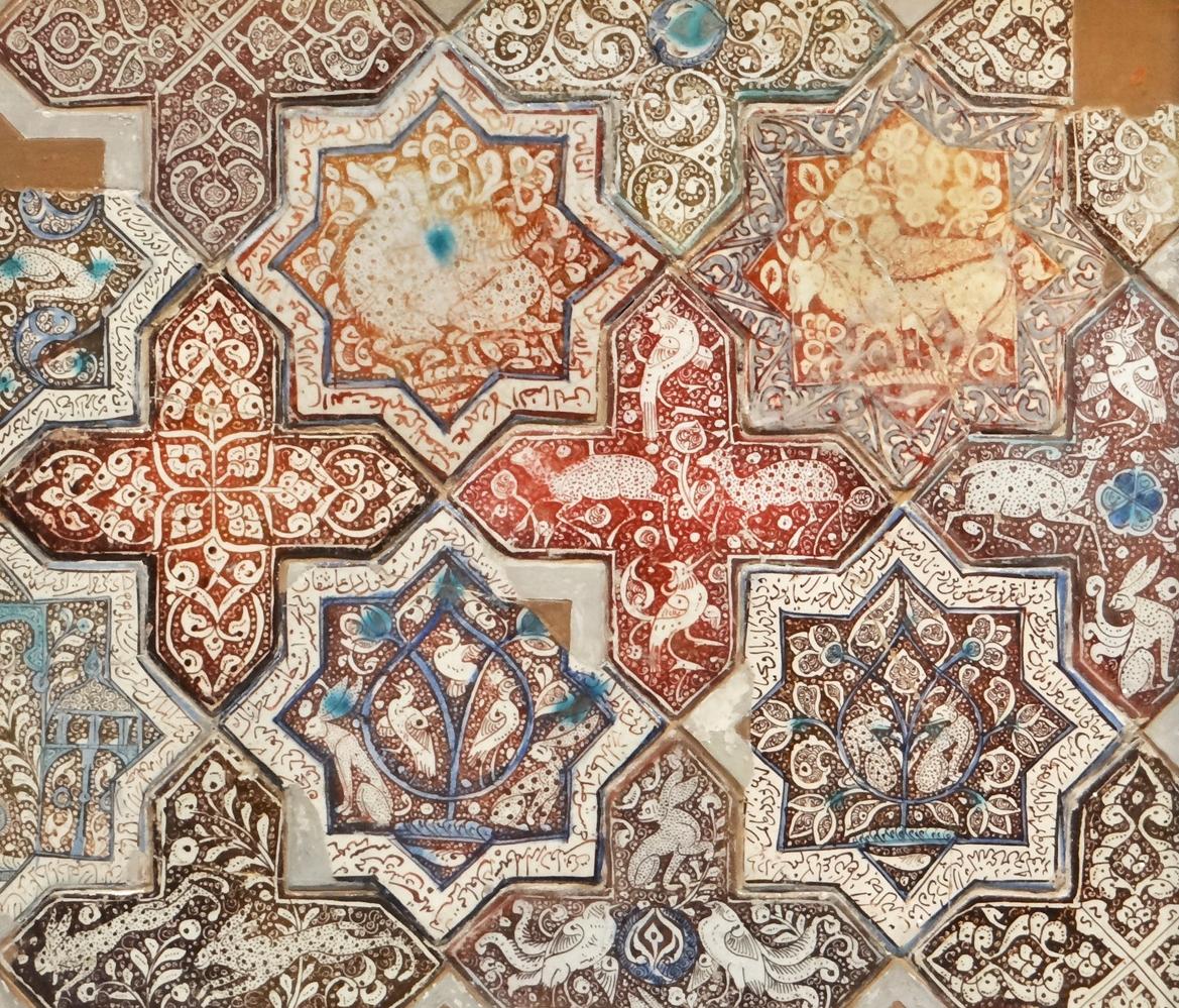 File Panneau en carreaux de céramique musée d art