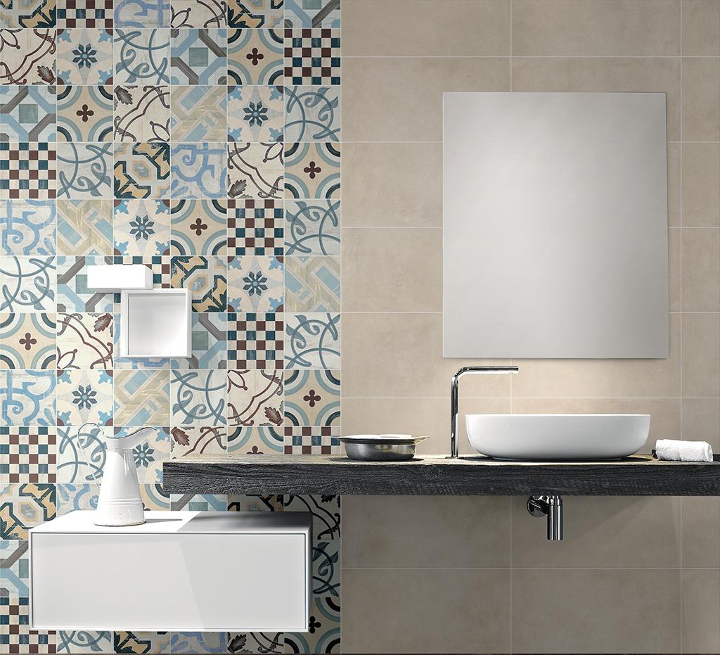 Salle de bain en carreaux de ciment céramique Porto Venere