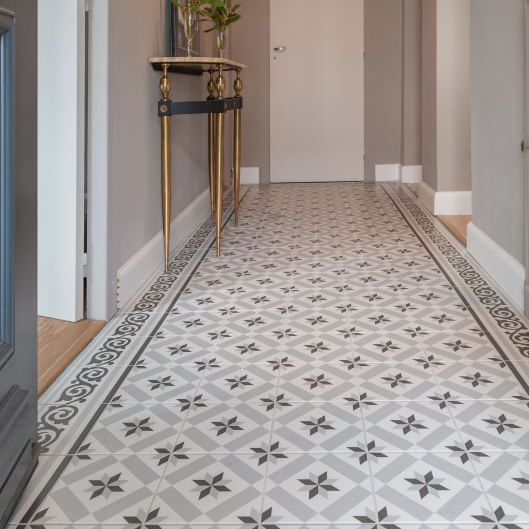Carreaux De Ciment Carrelage Mixer Parquet Chevron Et Carreaux De Ciment Saint Maclou