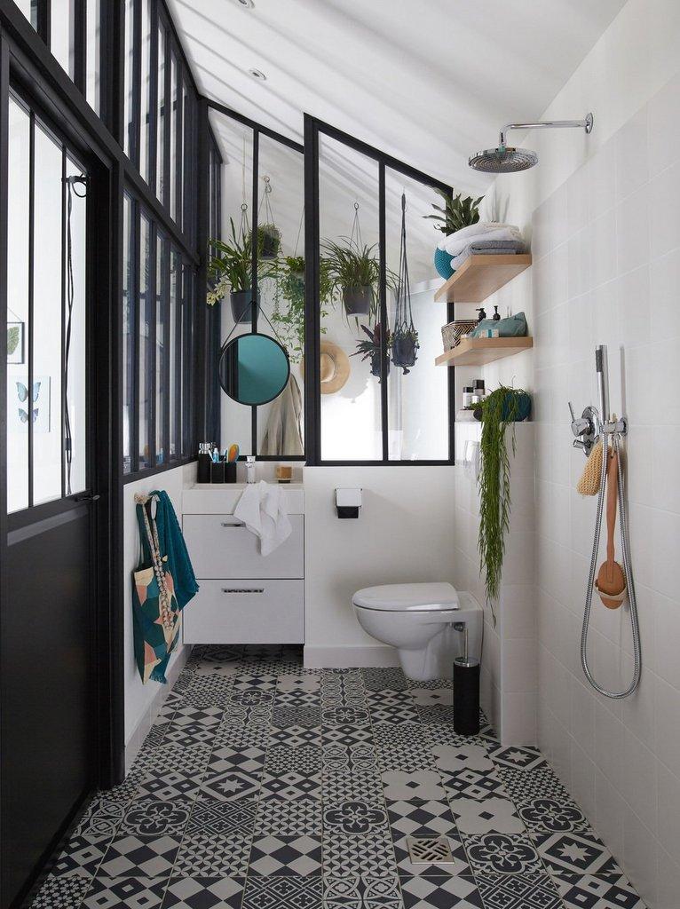 Carreaux de ciment salle de bain nos idées déco Joli Place