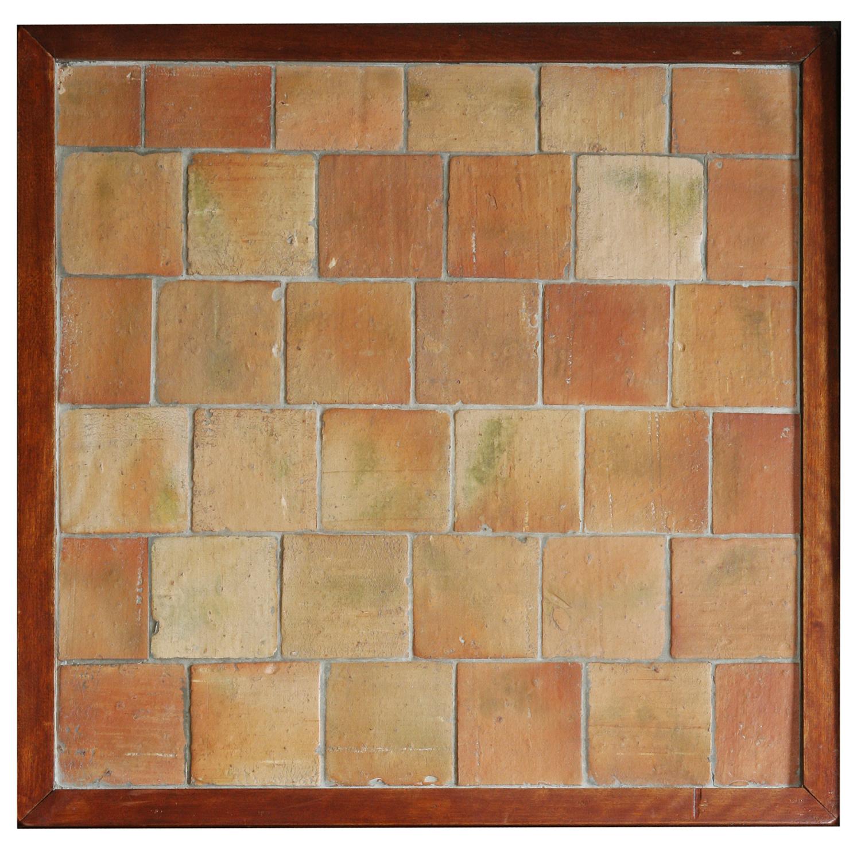 carreaux de terre cuite fait main 16 cm patchwork cailleau