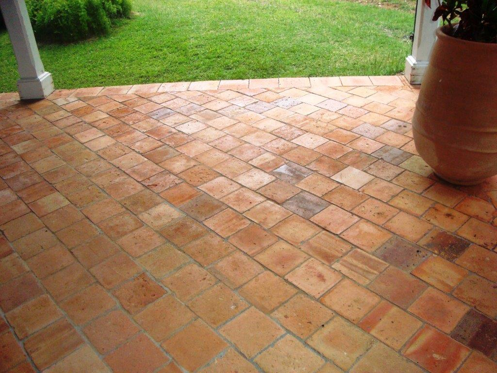 Tomette terre cuite Renovation sol