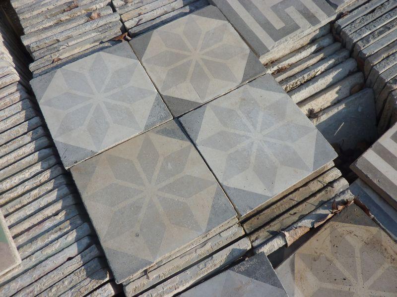 Les carreaux ciment décorés Vente carrelage ancien