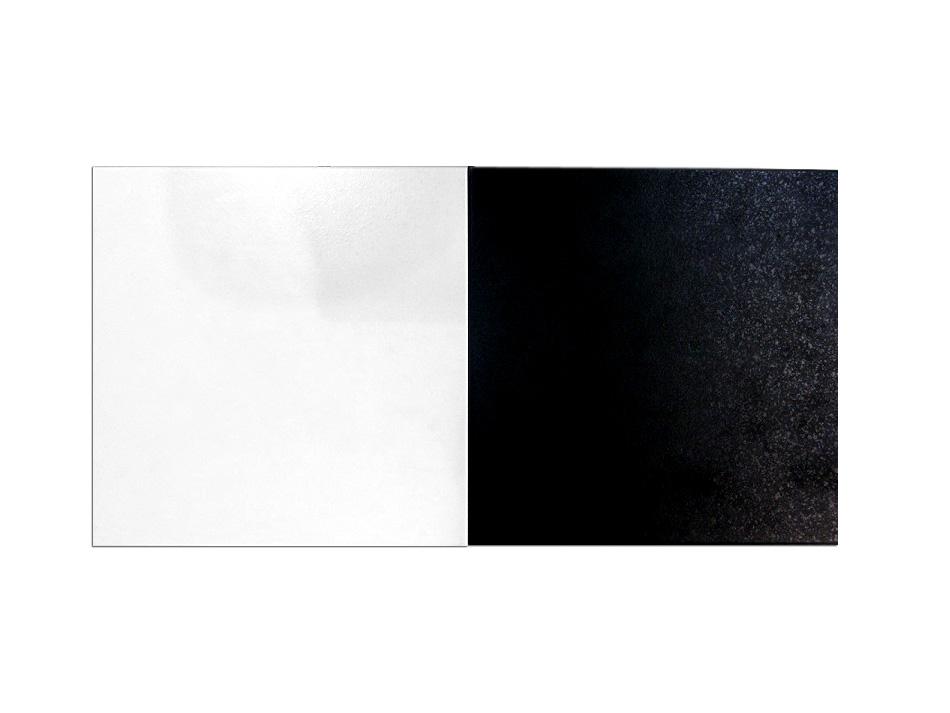 Carrelage sol 30x30 Jolly blanc et noir Grespania