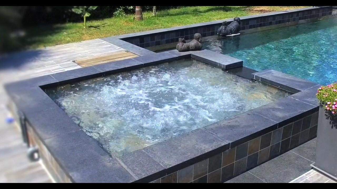 Carostyl piscine en carrelage Green Bali