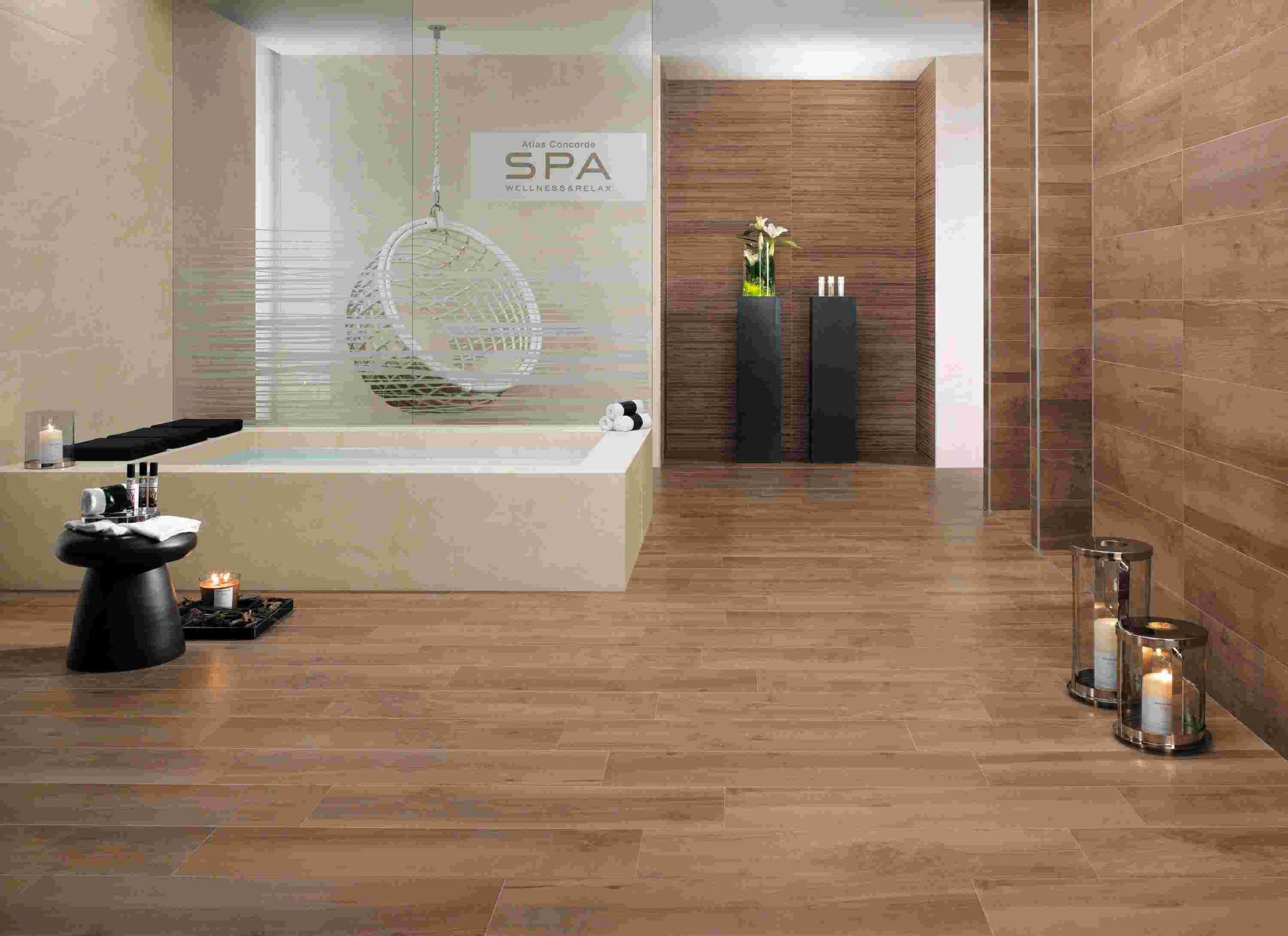 Carrelage Mural Sur Bois carrelage effet bois salle de bain carrelage salle de bain