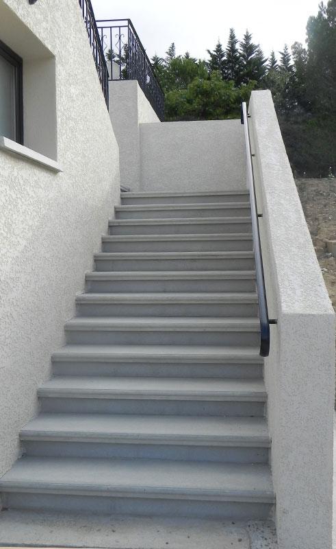 Carrelage Escalier Extérieur Escalier Extérieur En Béton Préfabriqué Sur Mesure