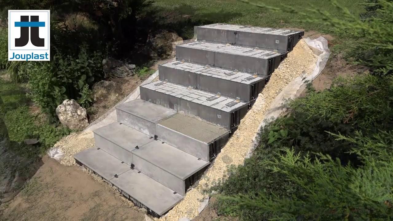 Carrelage Escalier Exterieur Escalier Exterieur Sans Beton Ceramique Modulesca Idees Conception Jardin Idees Conception Jardin