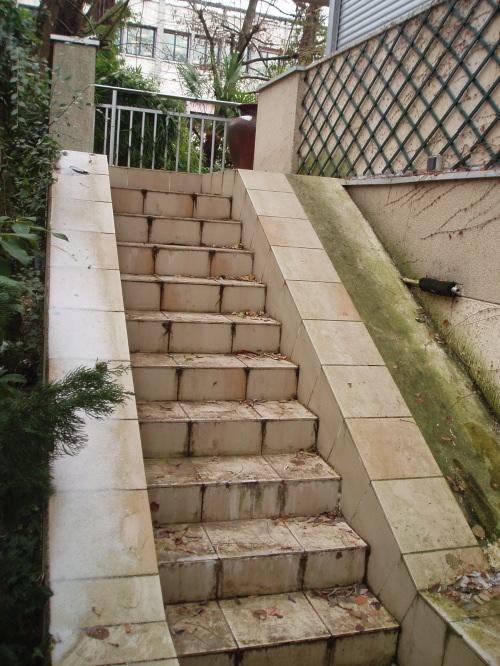 Carrelage Exterieur Escalier Refaire Un Escalier En Lames De Terrasses Bois Idees Conception Jardin Idees Conception Jardin