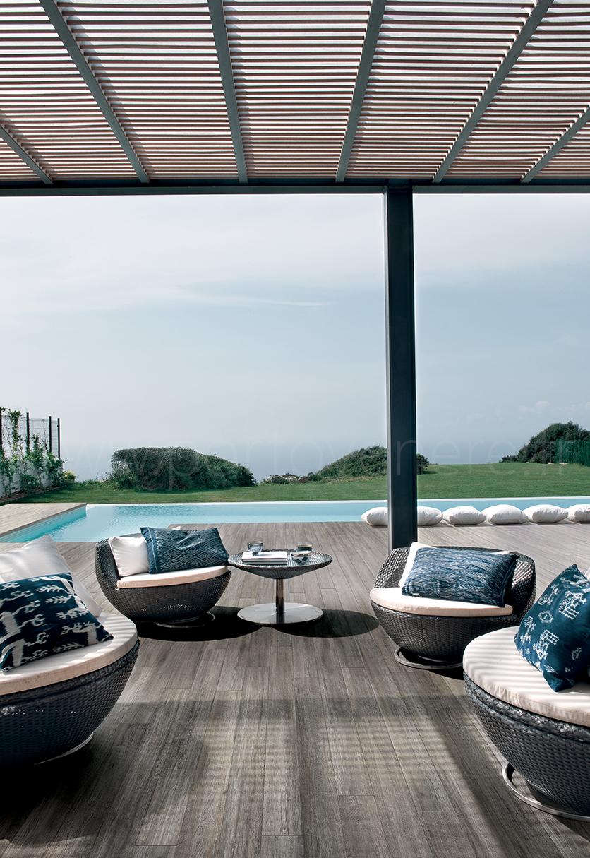 Carrelage imitation parquet intérieur extérieur design