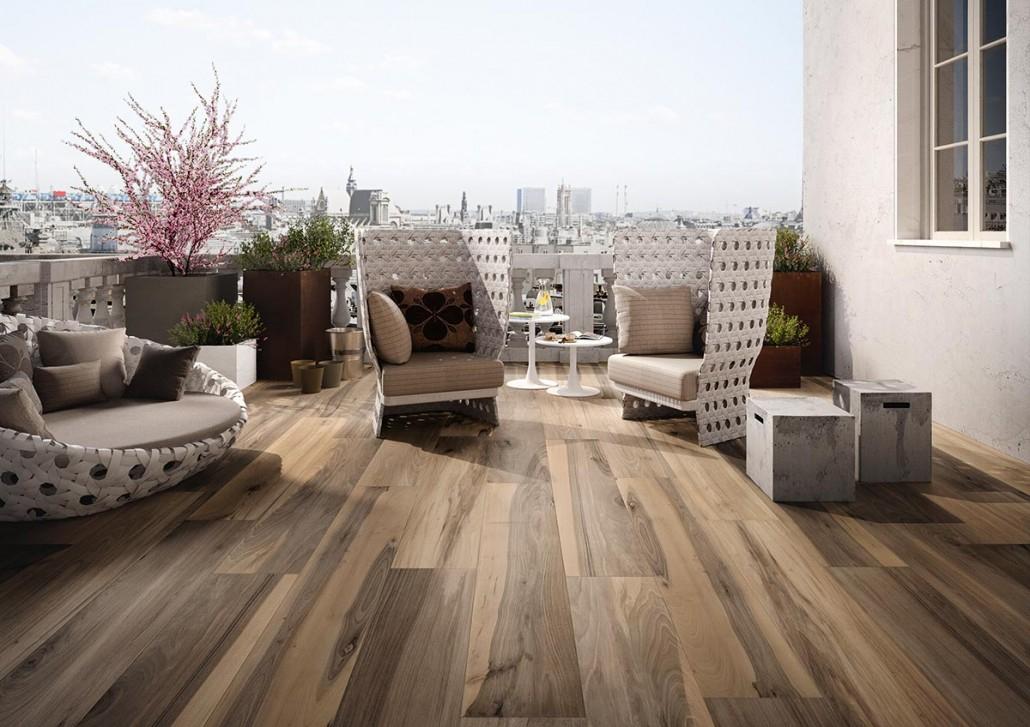 Les atouts du carrelage effet parquet pour votre terrasse