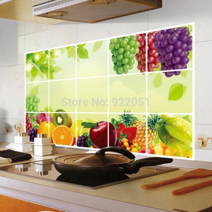 Carrelage adhesif cuisine Achat Vente Carrelage