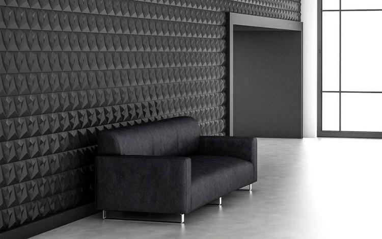Carrelage 3D modulable pour donner du relief aux murs