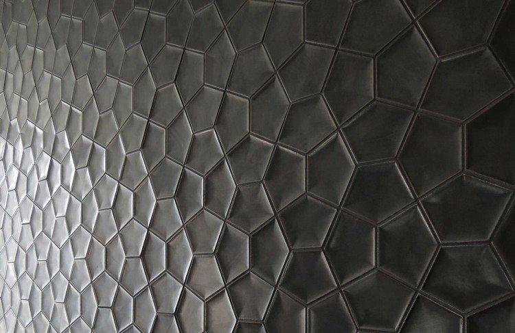 Carrelage béton sol et murs pour intérieur ou extérieur