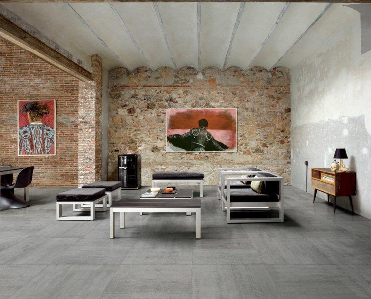 Carrelage gris mural et de sol –55 idées 'intérieur et