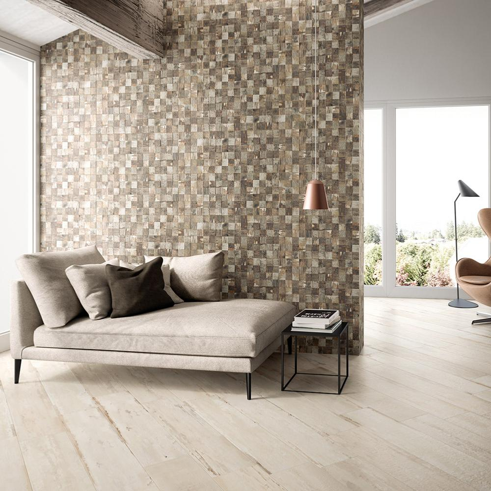 Carrelage mural imitation bois 32x80 5 Flair 3D Naturel