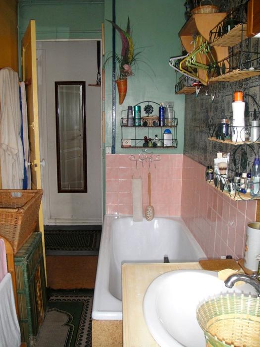 Salle de bain Carrelage Pâte de verre INTERIEURS