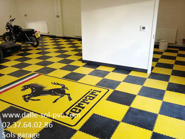 CARRELAGE SPECIAL GARAGE