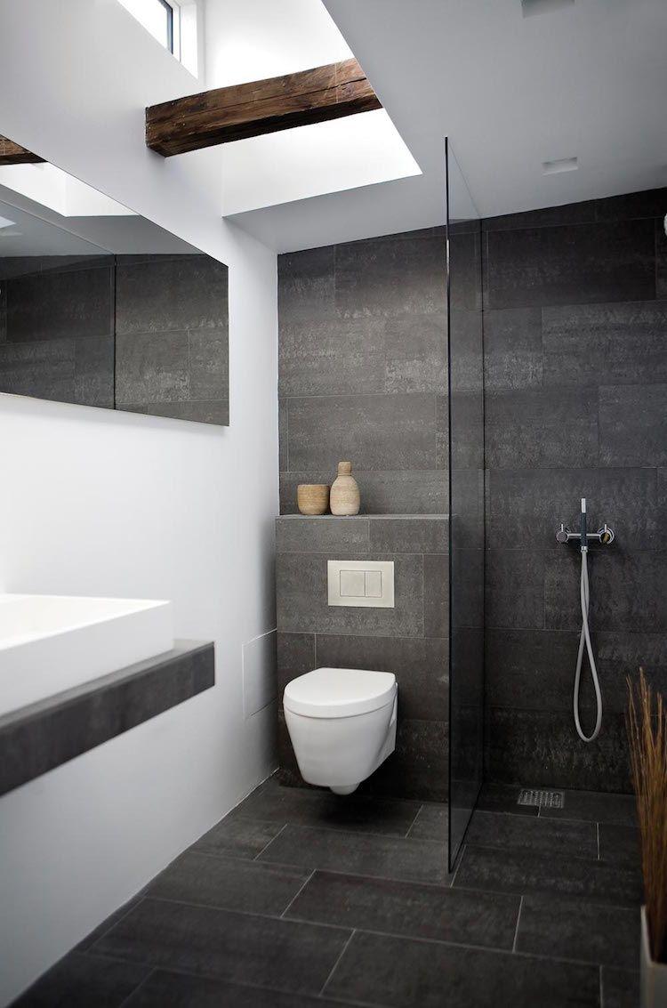 A vous de trouver la petite salle de bain moderne de vos
