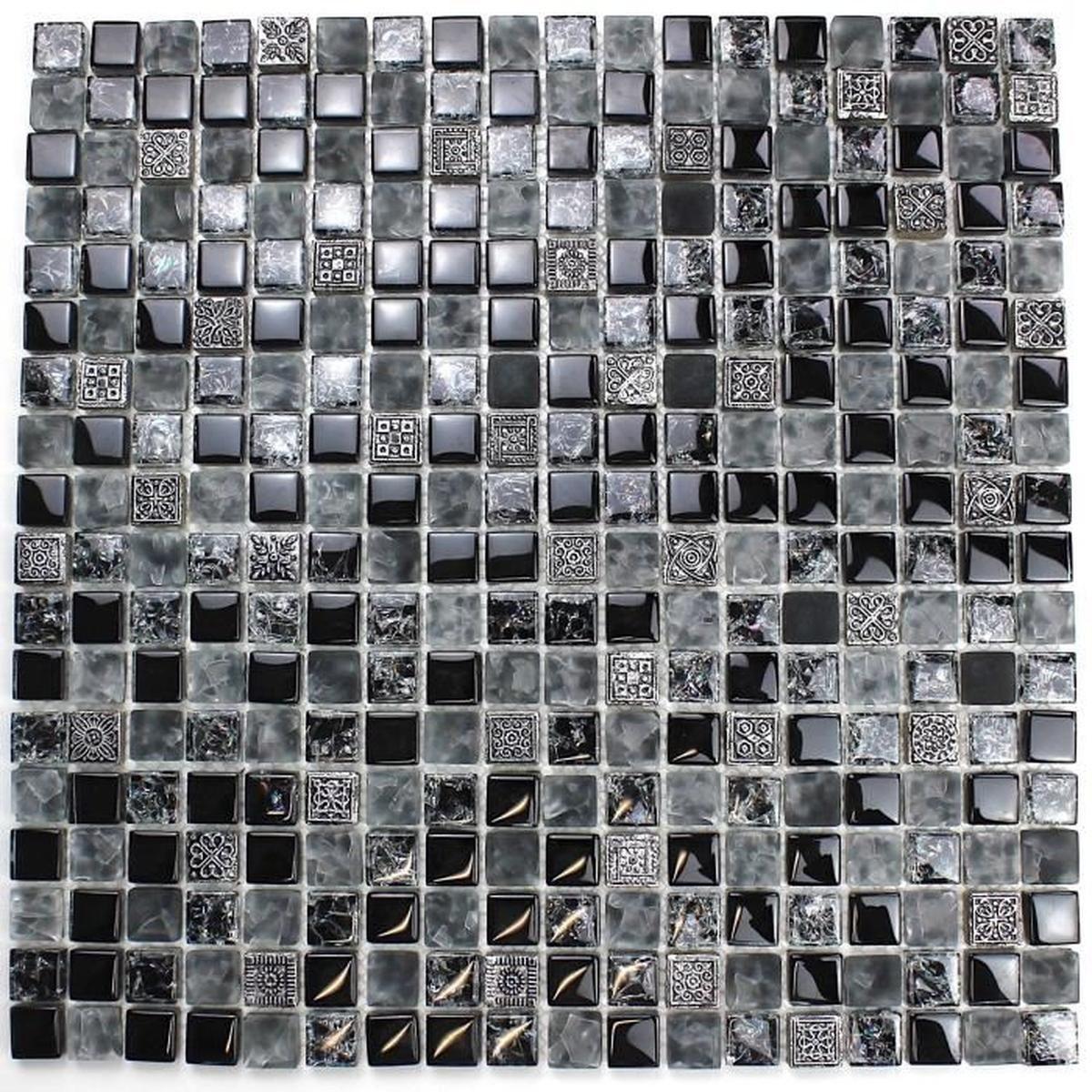 Carrelage Salle De Bain Mosaique Carrelage Mosaique En Verre Et Pierre Pas Cher Mvp Shiro