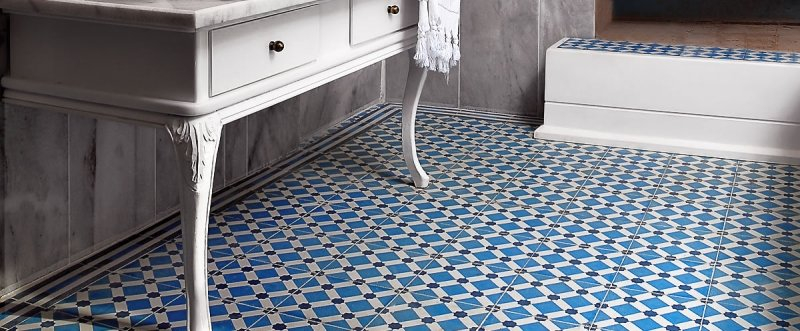 Carrelage imitation carreaux de ciment un grand retour
