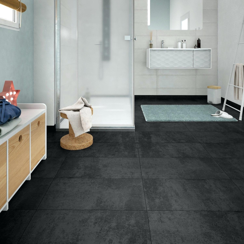 Carrelage Effet Beton Cuisine carrelage sol noir carrelage effet beton carrelage salle de