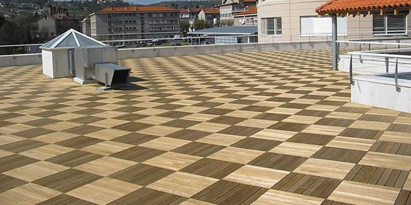 Choisir ses dalles de terrasse sur plots