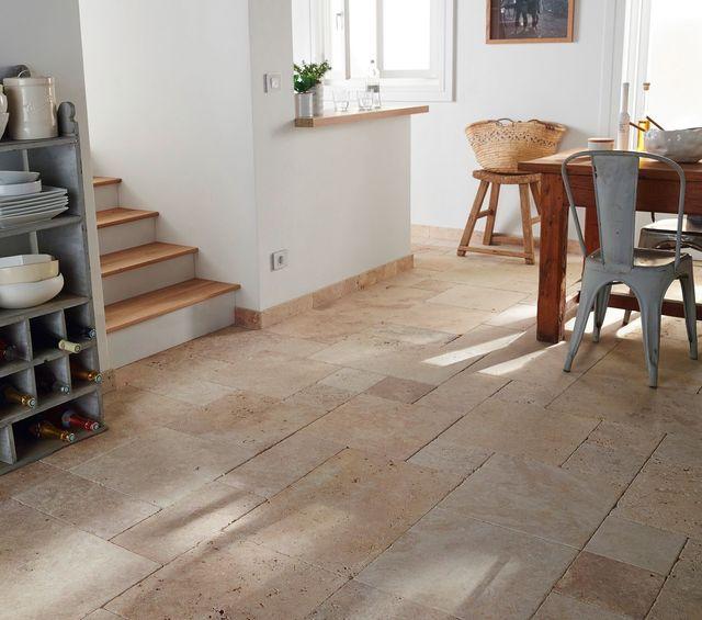 Carrelage pierre naturelle terre cuite grès Côté Maison