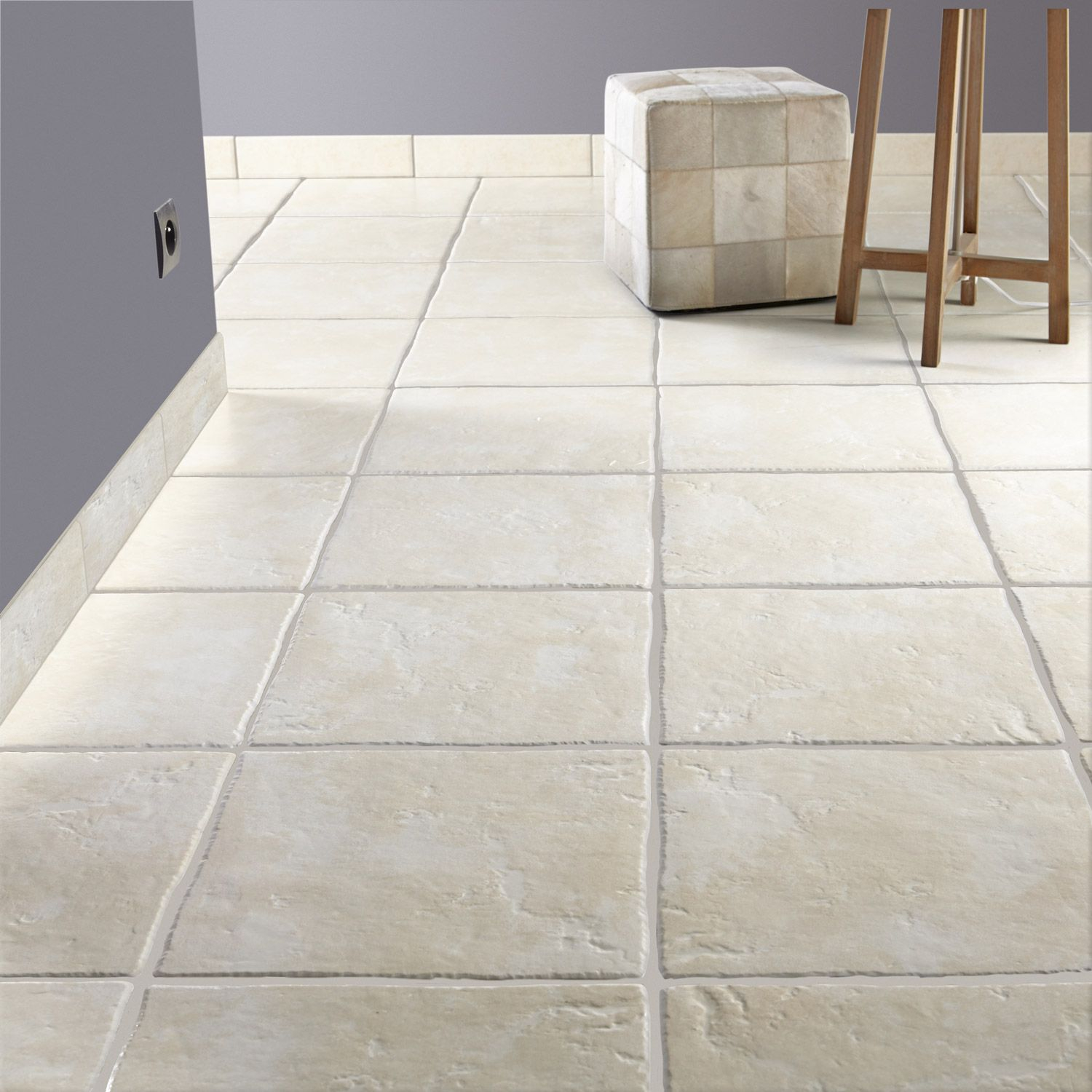 Carrelage Travertin Interieur Carrelage sol Maison Gris Relief Magasin