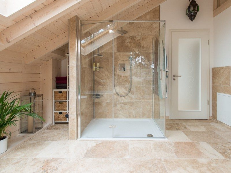 Carrelage Travertin Interieur Salle De Bain Travertin – Le Chic Noble De La Pierre