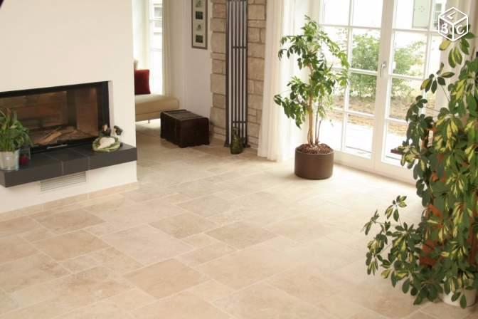 Carrelage Travertin Interieur Travertin Carrelage Pierre Naturelle Intérieur Beige