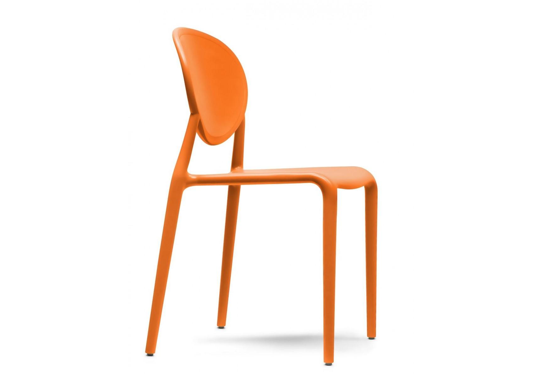 6 Chaises design GIO Lot de 6 intérieur et extérieur