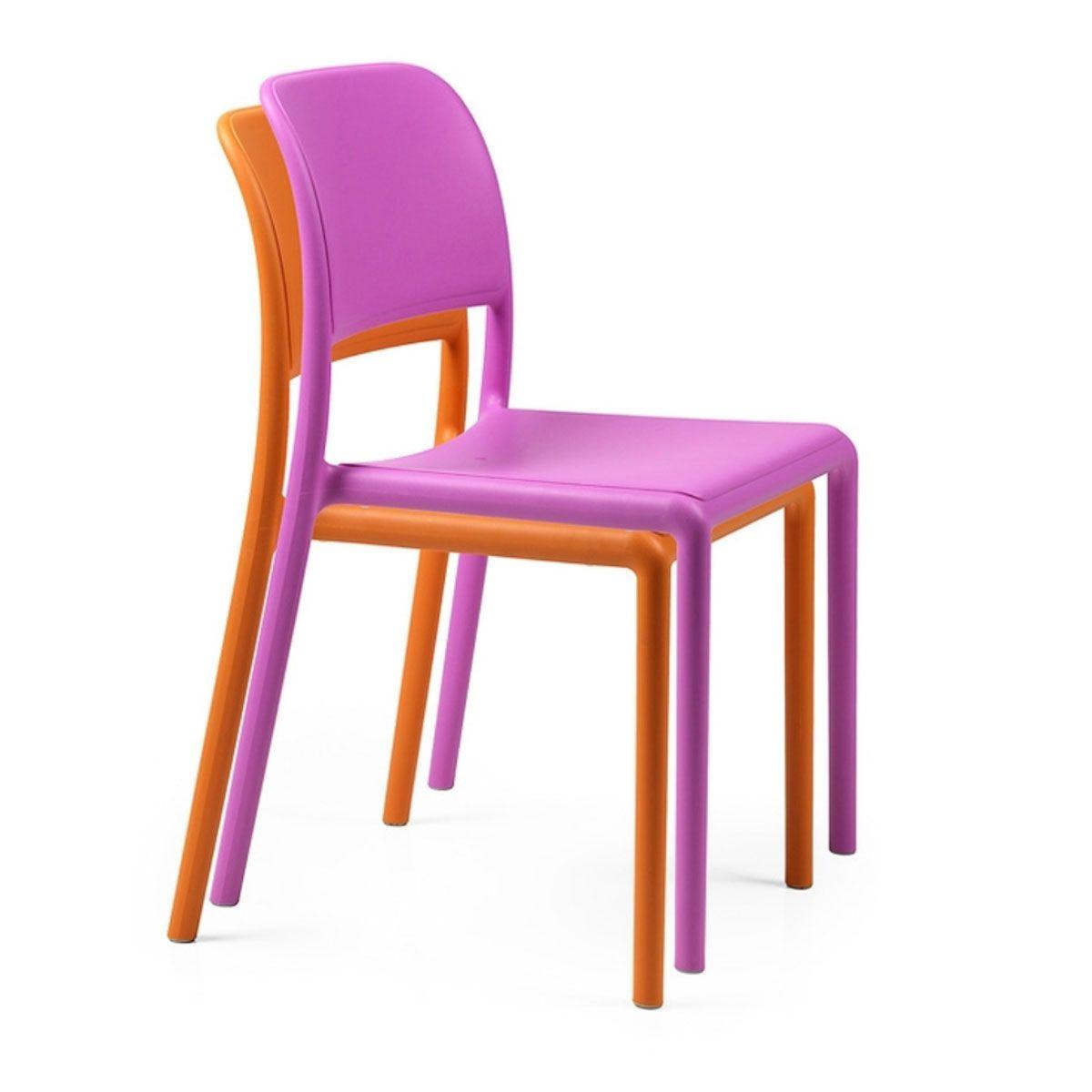 Chaise de jardin colorée Riva Bistrot Nardi Zendart Design