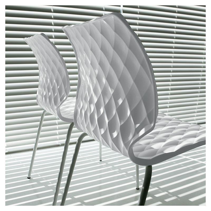 Chaise extérieure design UNI Metalmobil
