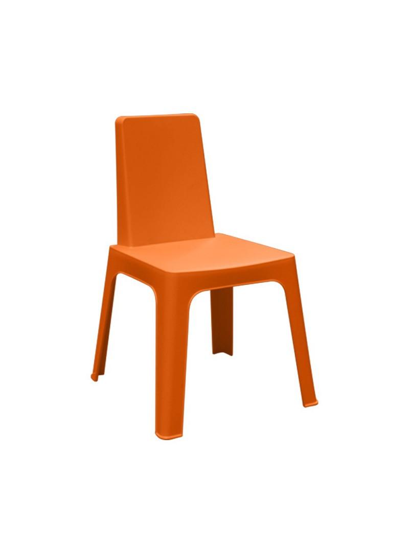 Chaise plastique empilable pour extérieur intérieur design