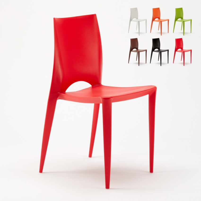 Lot 20 Chaises Colorées Design Moderne Hôtel Bar