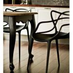 Chaise Master Kartell Masters Kartell In Black Stunning with This Table