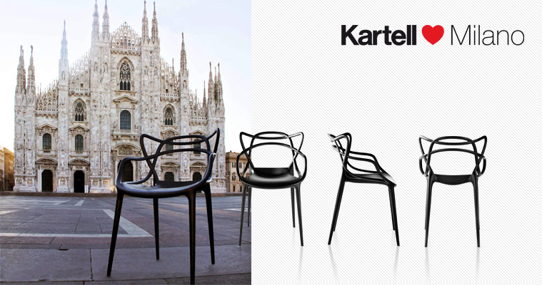 Chaise Master Kartell Milan Exhibition 2011 Kartell the Lastest Interior