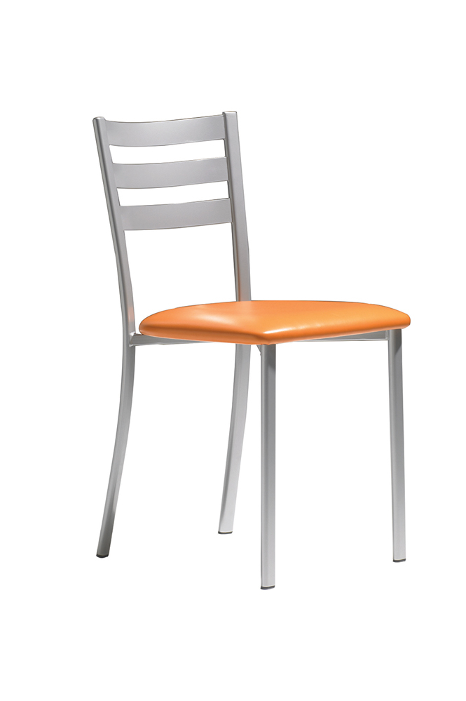 chaise metal couleur