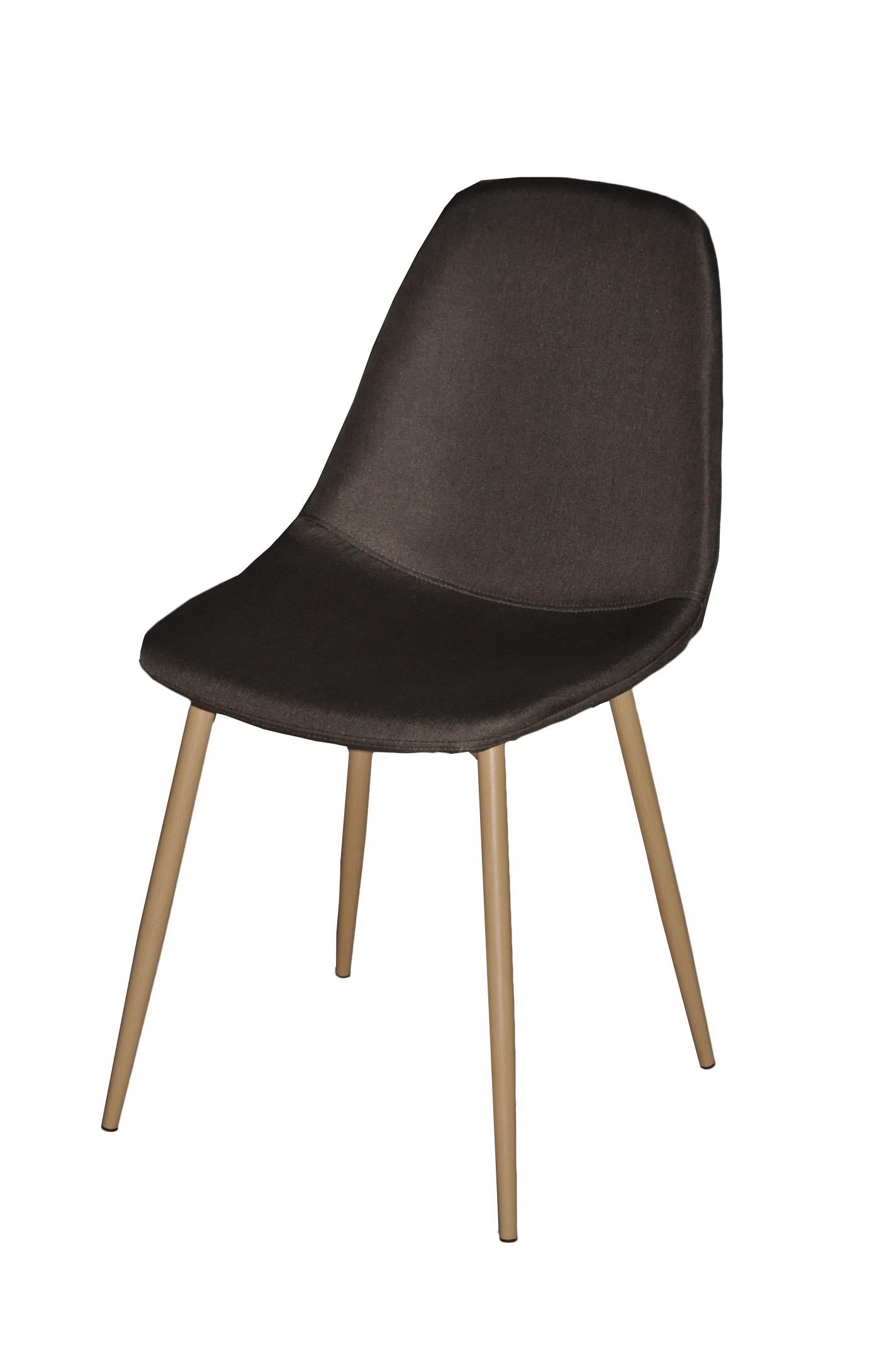 Chaise Design métal anthracite Style Scandinave Demeure
