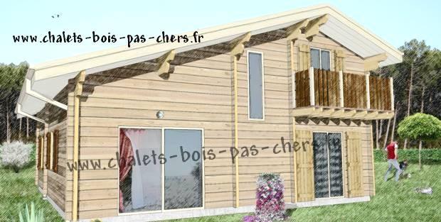 Chalet En Kit Habitable Maison Bois CARLA 120 Maison Bois