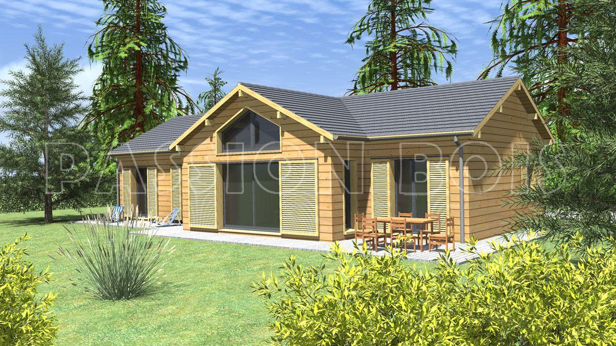 Maison Bois et Chalet Bois en kit – Modèles de maisons et