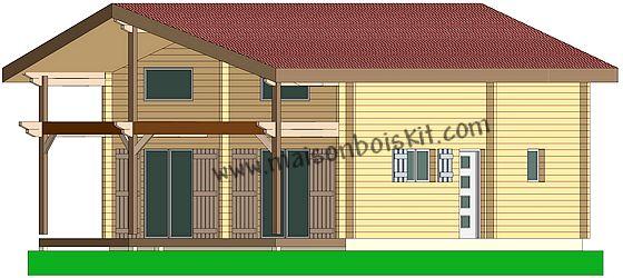 Plans et prix au m2 de maisons bois et chalets bois