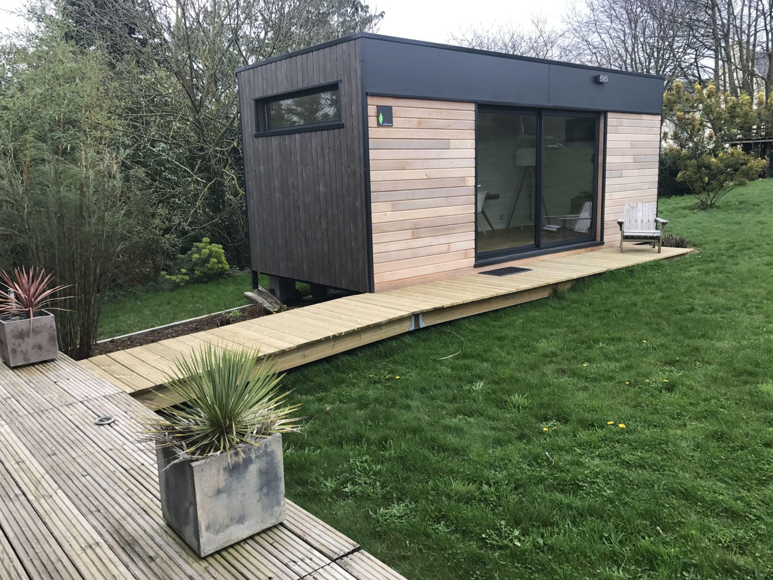 Chalet de jardin design – 20m2 – Plouenan