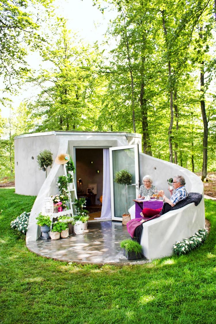 Chalet de jardin habitable – alternatives pour gagner surface